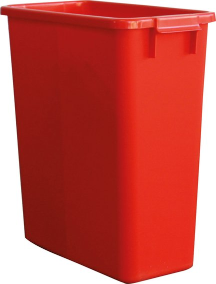 Multi-purpose container square red