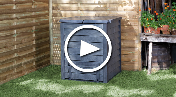 Benefits and installation Thermo-Wood composter